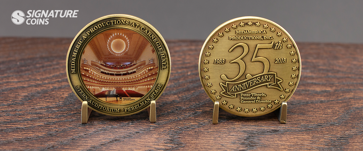 Picture Perfect Challenge Coins - Signature Coins