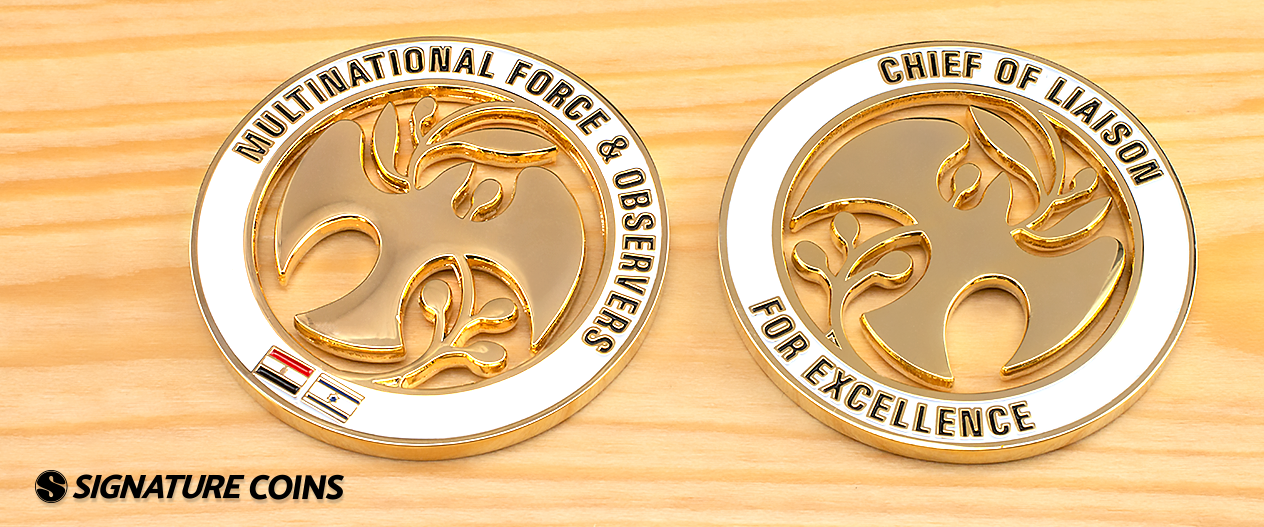 signature coins Multinational Force and Observers