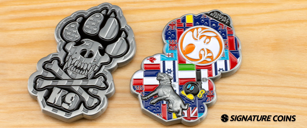 signature coins Multinational Force and Observers2